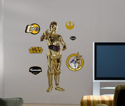 C-3PO -Fathead Wall Decal