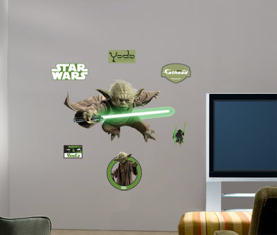Yoda -Fathead Wall Decal