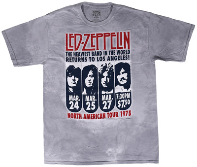 Led Zeppelin - Zeppelin L.A. 1975 T-Shirt