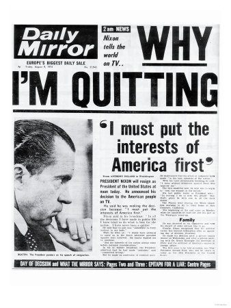 Why I'M Quitting, I Must Put the Interests of America First Premium Giclee Print