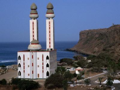 The Mosque of Plage d'Ouakam, Dakar, Senegal Photographic Print by Ariadne Van Zandbergen
