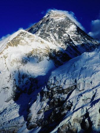 Mt. Everest from Kala Pattar, Sagarmatha National Park, Nepal Fotoprint av Richard I'Anson