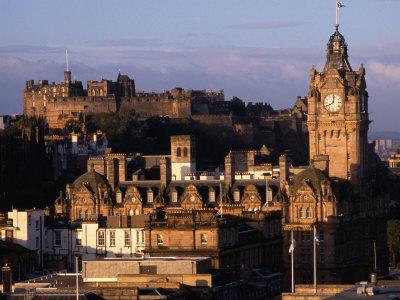Cityscape from Calton Hill Edinburgh, Edinburgh, Scotland Photographic Print by Glenn Beanland
