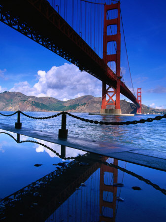 Golden Gate Bridge, San Francisco, California, USA Photographic Print by Roberto Gerometta