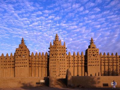 Djenne's Grand Mosque (1905) is the Largest Mud-Brick Building in the World, Djenne, Mopti, Mali Photographic Print by Ariadne Van Zandbergen
