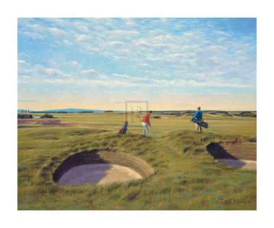 St. Andrews 10th - Bobby Jones Collectable Print by Peter Munro