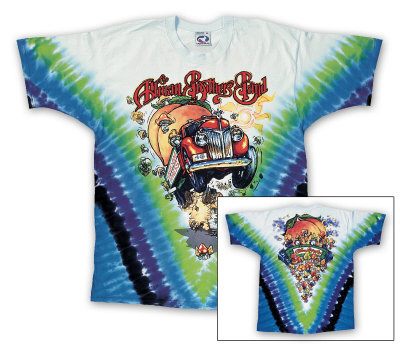 Allman Brothers Band - Mushroom Express Shirt