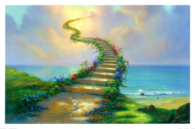 Stairway to Heaven Kunsttryk