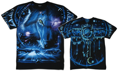 Nature - Tribal Wolf T-Shirt