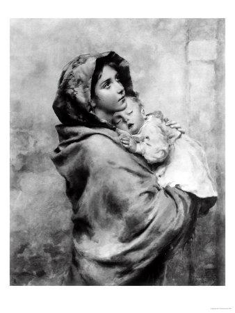 Madonnina, Roberto Ferruzzi, Private Collection, Florence Premium Giclee Print by Roberto Ferruzzi