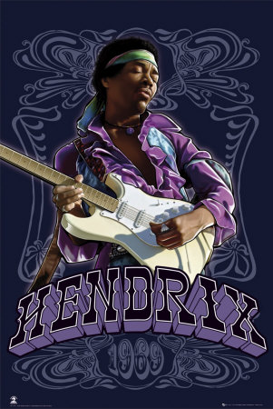 Jimi Hendrix Affiche