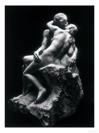The Kiss, Rodin Museum, Paris Giclee Print