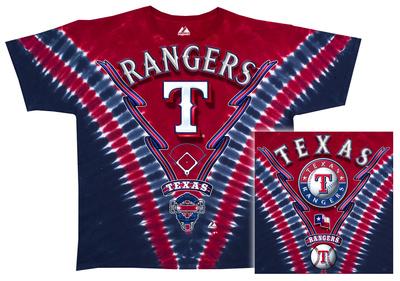 MLB: Rangers V-Dye T-Shirt