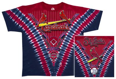 MLB: Cardinals V-Dye Shirts