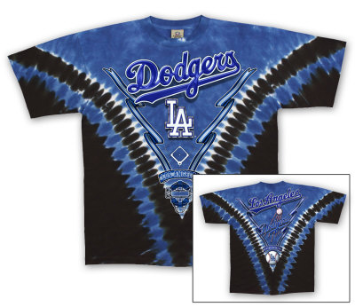 MLB: Los Angeles Dodgers - V-Dye T-shirts