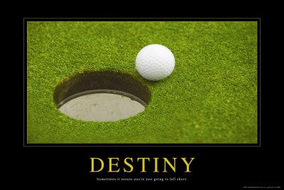 Osud – Destiny (citát vangličtině) Plakát