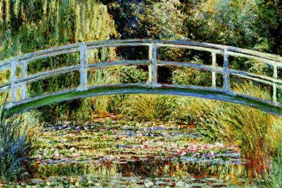 Le Pont Japonais a Giverny Print by Claude Monet