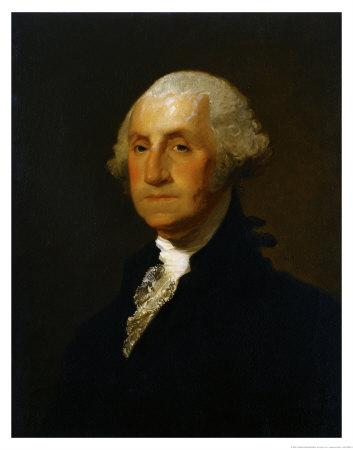 George Washington Prints by Gilbert Stuart