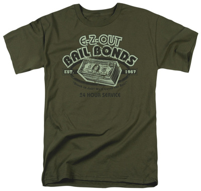 Retro - E-Z-Out Bail Bonds T-Shirt
