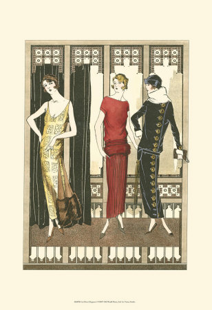 Art Deco Ladies