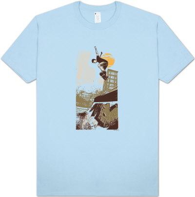 Retro - Skater on Half Pipe Shirt