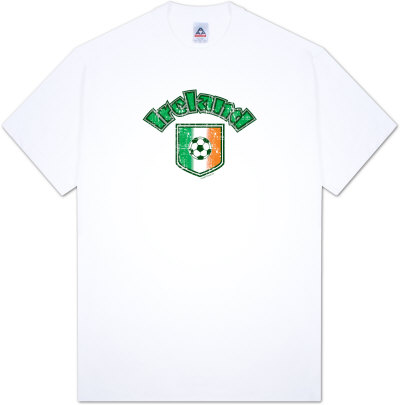Around the World - Ireland Soccer T-Shirt