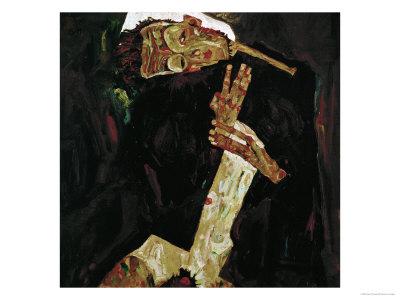 The Poet (Self-Portrait), 1911 Giclee Print by Egon Schiele