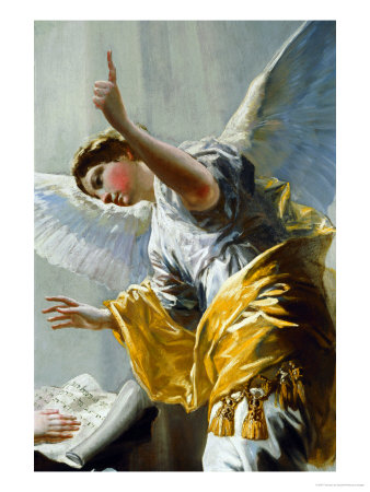 The Annunciation (Detail) Giclee Print by Francisco de Goya