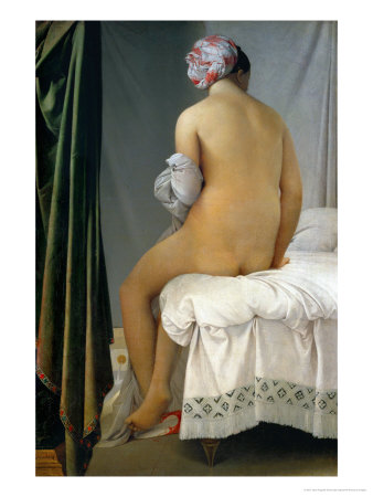 Bathing Woman (Baigneuse De Valpincon), 1806 Giclee Print by Jean-Auguste-Dominique Ingres