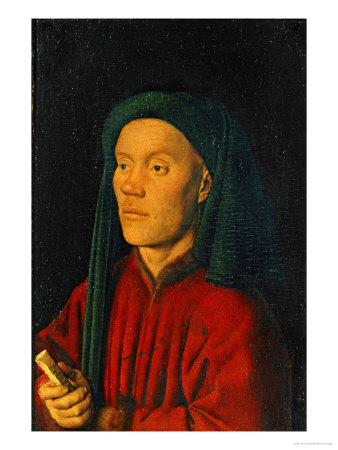 Portrait of a Young Man, 1432, Perhaps Guillaume Dufay Giclee Print by  Jan van Eyck