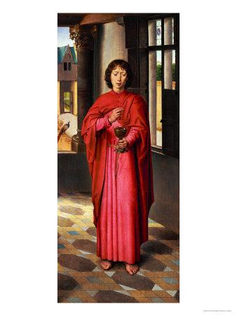 Saint John the Evangelist Giclee Print by Hans Memling