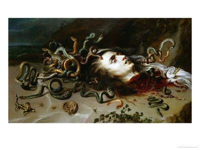 The Head of Medusa, circa 1618 Giclee Print by Peter Paul Rubens