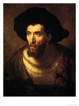 The Philosopher, 1650 Giclee Print by  Rembrandt van Rijn