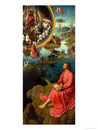 Altarpiece of St. John the Baptist and St. John the Evangelist Giclee Print by Hans Memling