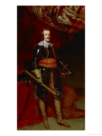 Philip IV of Spain (1621-1665), Praying Giclee-trykk