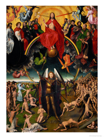 Triptych with the Last Judgement Giclee Print by Hans Memling