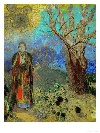 The Buddha, 1906-1907 Giclee Print by Odilon Redon
