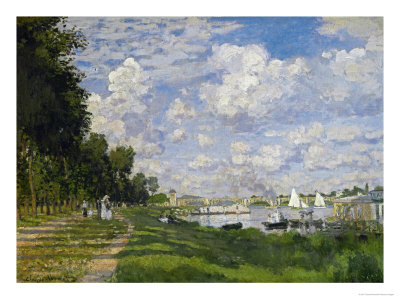 The Docks of Argenteuil (Le Bassin D'Argenteuil), Around 1872 Giclee Print by Claude Monet