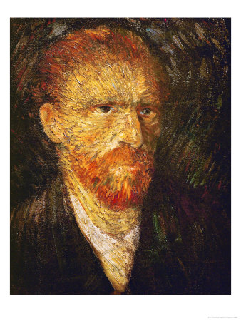Self-Portrait, circa 1887 Giclee Print by Vincent van Gogh
