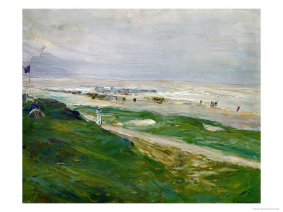 Dune in Noordwijk, Netherland, 1908 Giclee Print