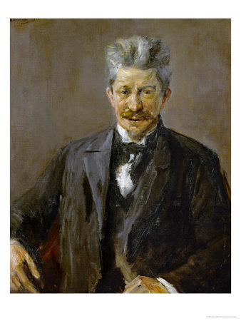 Georg Brandes (1842-1927), Danish Art Critic, 1902 Gicle-Druck