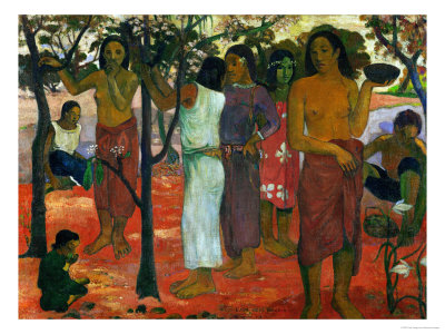 Nave Nave Nahana (Delicious Day), 1896 Giclee Print by Paul Gauguin