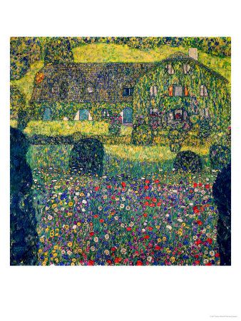 Country House on Attersee Lake, Upper Austria, 1914 Giclee Print by Gustav Klimt