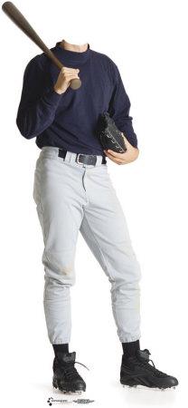 Baseball Player Lifesize Stand-In Cardboard Cutouts