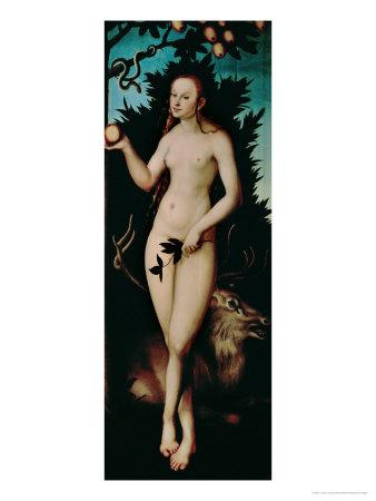 Eve, 1533 Giclee Print by Lucas Cranach the Elder