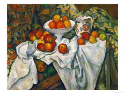 Apples and Oranges Lámina giclée por Paul Cézanne