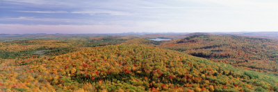 Bangor Area, Peaked Mountain, Clifton, Maine, USA Photographic Print by  Panoramic Images