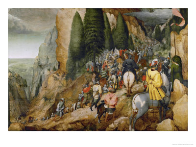 Conversion of Saint Paul Giclee Print by Pieter Bruegel the Elder
