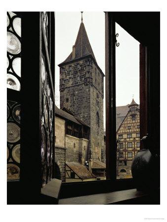 View from Albrecht Duerer's House in Nuernberg, Germany Giclee Print by Albrecht Dürer