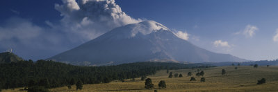 Clouds over a Mountain, Popocatepetl Volcano, Mexico Photographic Print by  Panoramic Images